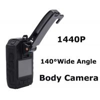 China Mini Full Hd 1440p Body Mount Camera Recorder , Wireless Wearable Body Cameras on sale