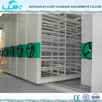 China Mechanical Metal Movable Compact Mobile Filing Cabinet Anti Corrosion on sale
