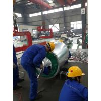 ISO9001 Standard SGCC Color Coated Steel Coils / uv resistant Galvanized Steel Coil Manufactures