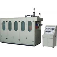 China Auto Small Thermoforming Machine Hole Pouching Plastic Pot Manufacturing Machines on sale