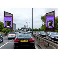 Front Maintenance Outdoor Electronic Advertising Led Display Screen 1/8 Scan Mode Manufactures