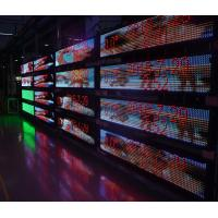 High Brightness P 10 Changeable Led Signs , Programmable Led Message Board Moving Manufactures