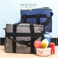High Density Sewing Insulated Cooler lunch Bag For Ice / Lunch Packing Manufactures