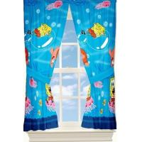 Custom Polyester Print Window Shower Curtain For Hotel With Flower Design