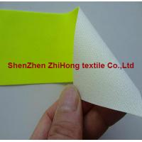 Colored Flame retardant cotton yellow/orange high reflective fabric Manufactures