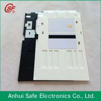 plastic inkjet pvc id card tray for Epson printer Manufactures