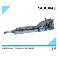 High Speed Flute Laminating Machine Semi Auto Industrial 1400 Lift Type Power 6KW Manufactures