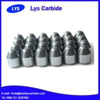 Cemented carbide buttons & inserts for mining tools Z types conical button Manufactures