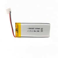 PL602663 1000mAh 3.7 V Small Lipo Battery Overcharge Protection Manufactures