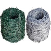 Modern Coiled Steel Barbed Wire Wear Resistance Hot - Dip Zinc Plating Manufactures