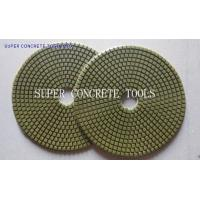 7 Inch Dry Concrete Floor Polishing Pad Manufactures