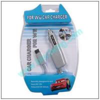 Sell WII car charger 12V/2A Manufactures