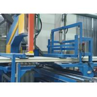 China 18m Double Belt RW Sandwich Panel Machine Line Continuous Hydraulic Sawing on sale