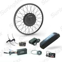 DC 48V Electric Mountain Bike Kit Front / Rear Gearless Motor Conversion Kit Manufactures