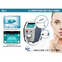 Portable Q Switched Nd Yag Laser Tattoo Removal Machine 1064nm 532nm 1320nm Manufactures