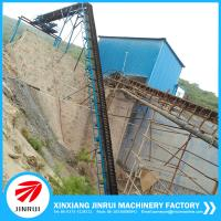DJ series steeply inclined belt conveyor machine large angle for mining Manufactures