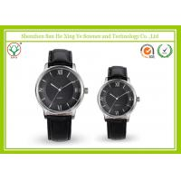 Luxury Japan Movt Leather Strap Watch With Stainless steel Watchcase Manufactures