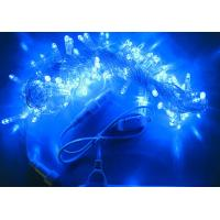 10m blue twinkle led christmas decorative string lights+controller 100 bulbs Manufactures