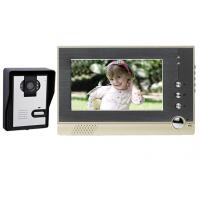 China 7 inches Color LCD Video Door Phone Intercom Doorbell GW607SC-F1B on sale