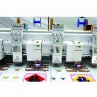 Multi-heads Mixed Chenille Embroidery Machine with 10 Inches LCD Display Manufactures