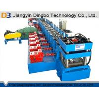 Memorial Arch Gearbox Drive Metal Cruss Barrier Roll Forming Machine Line Speed 10m / Min Manufactures