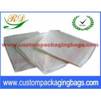 PVA Offset Printing Colored Plastic Laundry Bags , Drawstring Plastic Bags Manufactures
