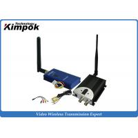 China 600MA 2.4Ghz Wireless Video Transmitter And Receiver With 2000m Long Range Video Sender on sale