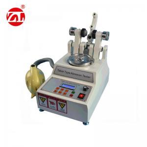 DIN 53754  Rubber / Leather Taber Abrasion Testing Machine 220v 50hz Manufactures