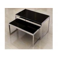 Stainless Steel Nesting Display Tables 1200 * 600 * 900MM For Advertisment Exhibition Manufactures