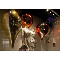 Air Balloon Handbag Window Display Shelf Colorful Stainless Steel 304 Material Manufactures