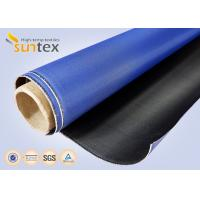 China Good Abrasion Resistance Flame Retardant Waterproof Fiberglass Cloth Polyurethane Coated Fiberglass Fabric on sale