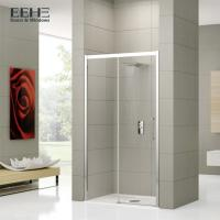 China 900 X 900mm Fiberglass Shower Door / One Sliding Enclosed Shower Room on sale