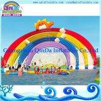 GZ QinDa Inflatable Giant Water Slide for Amusement Park Aqua Park Water Slide for Sale Manufactures
