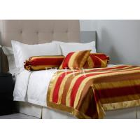 Full size luxury jacquard comfort hotel bedding sets with for Comfort inn bedding