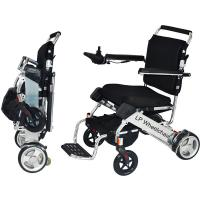 Lightweight Handicapped Folding Electric Wheelchair Manufactures