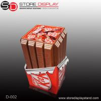 Custom Dump bin display stand for candies and chocolates Manufactures