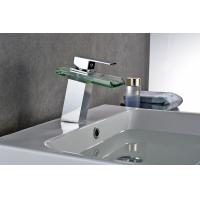 China Hot And Cold Water Modern Bathroom Faucets , Brass Bathroom Faucets OEM And ODM on sale