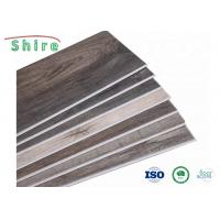 Wood Grain SPC Stone Plastic Composite Flooring For Hospital / Office Building Manufactures