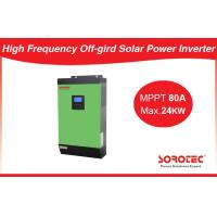 Pure Sine Wave 48V Solar Power Inverters With Overload / Short Circuit Protection Manufactures
