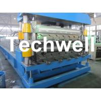 China Double Layer Roof Tile & Roof Sheet Roll Forming Machine on sale