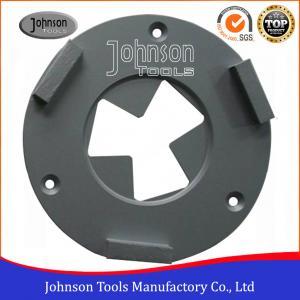 3 Segment Diamond Grinding Wheels 160mm Diamond Concrete Grinders For Epoxy Floor Manufactures