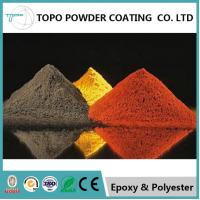 China RAL 1004 Color Textured Powder Coat For Tank Polyester Raw Materials on sale