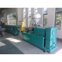 China Double Screw PVC Pipe Extrusion Line , Plastic Water Pipe Making Machine on sale