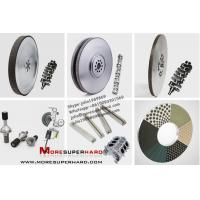 China Moresuperhard Vitrified superabrasive grinding wheels for Auto Processing industry on sale