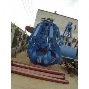 Hydraulic motor bulk clamshell grab bucket Manufactures