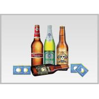 Beer Label Vacuum Metallized Paper Laminate Sheets Chemical Type , Width 200mm-2000mm Manufactures