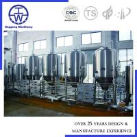 China Fermentation Stainless Steel Storage Tanks Customized Capacity For Beer Milk Dairy Cream on sale