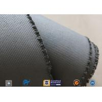 China 1600gsm Grey Thermal Welding Blanket Materials Silicone Coated Fiberglass Fabric on sale