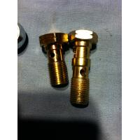 carbon steel banjo hydraulic pipe fitting scew banjo bolt and nut Manufactures