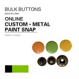 Barrel Rack & Spray Paint DTM Fabric Clothing Colour 4 - Parts Bulk Snap Brass Button Manufactures